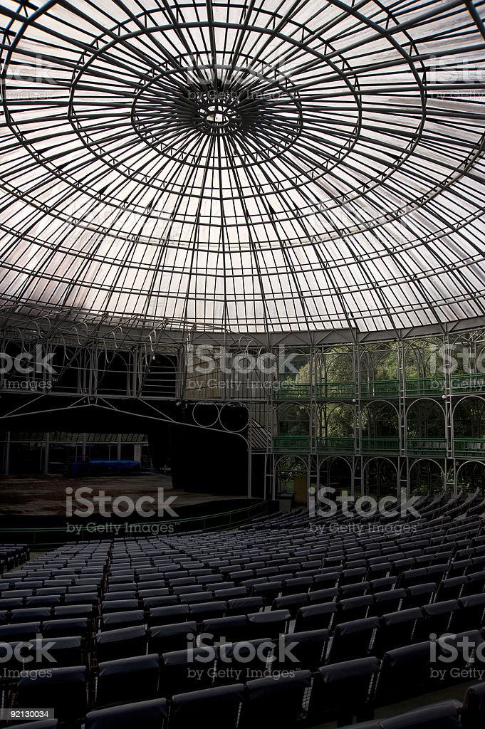 Wire Opera in Curitiba royalty-free stock photo