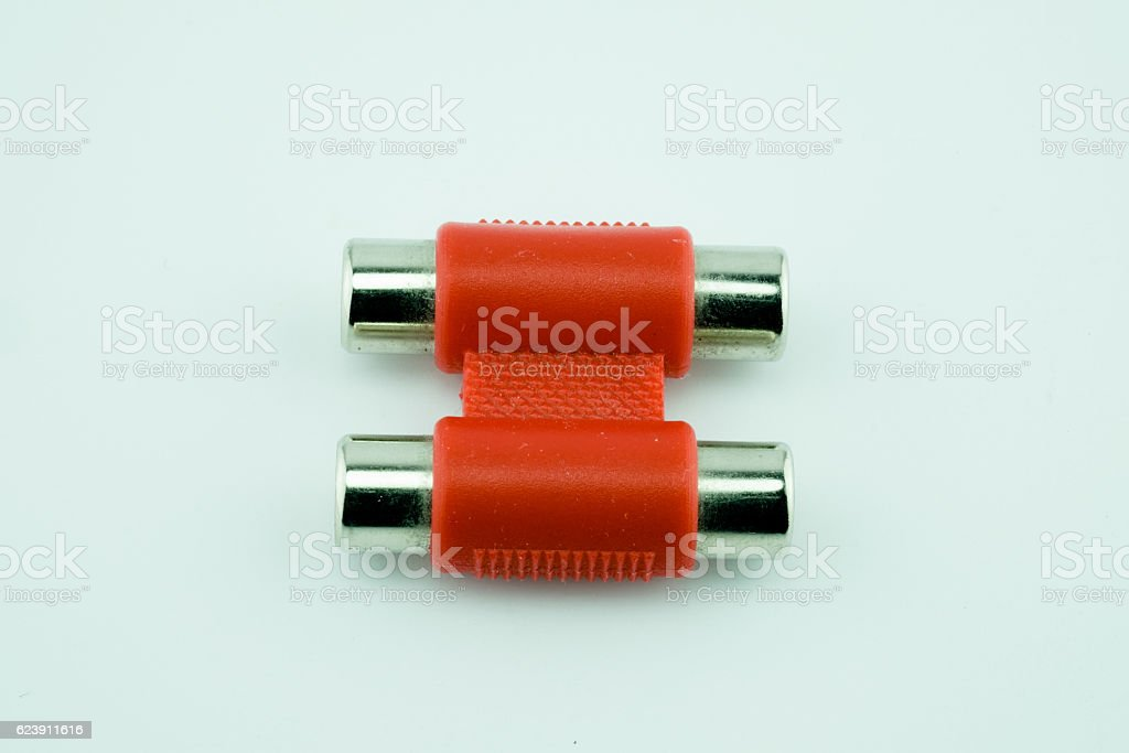 AV wire stock photo