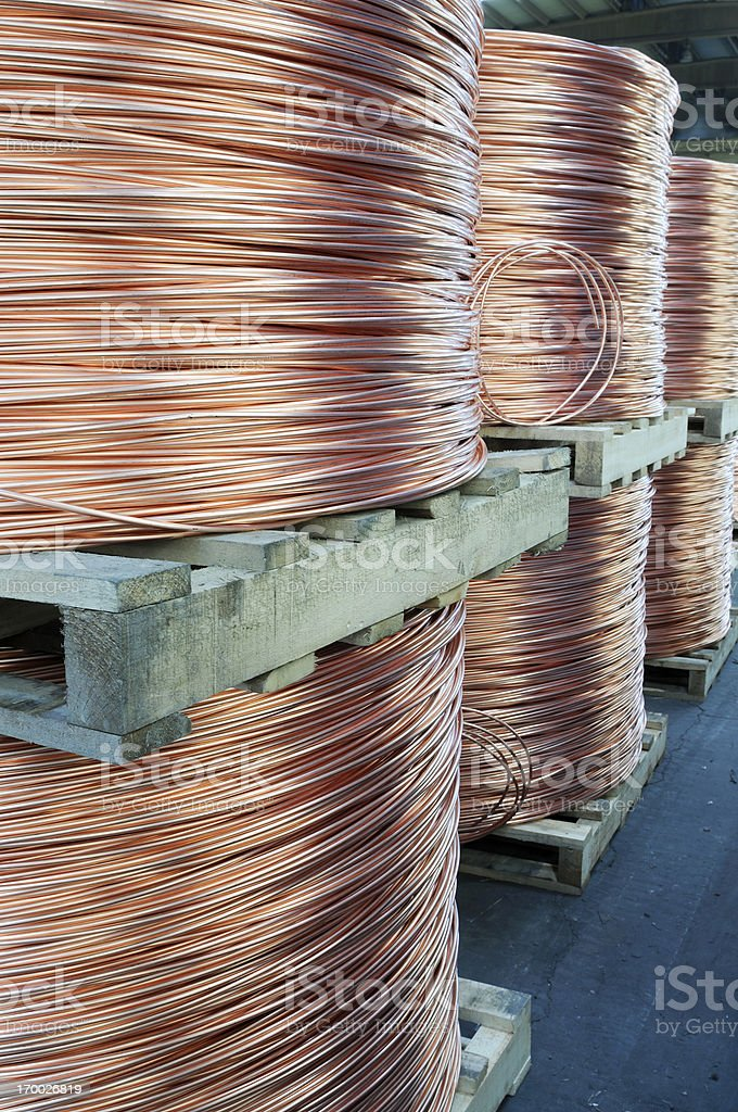 Wire Rod royalty-free stock photo