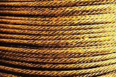 wire rope background