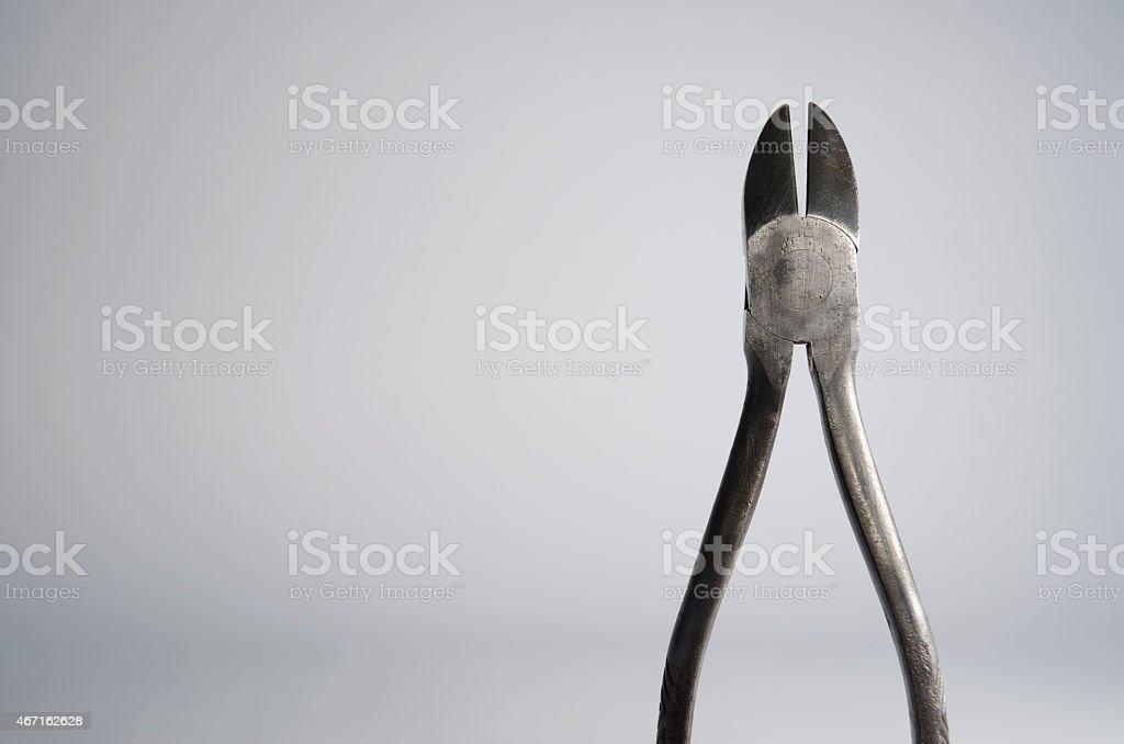 Wire Snips stock photo