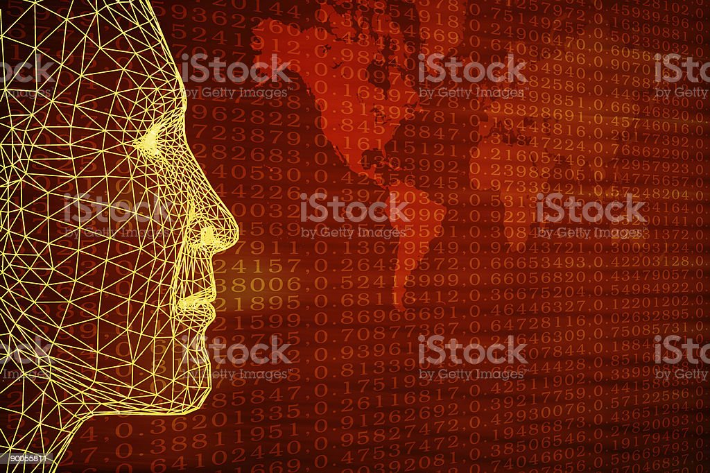 Wired Business royalty-free stock photo