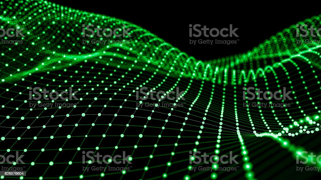 Wireframe - a skeletal three-dimensional model 3d illustration stock photo