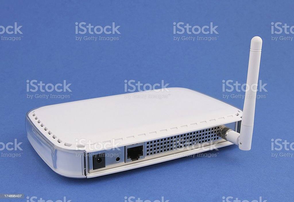 Wireless access point stock photo