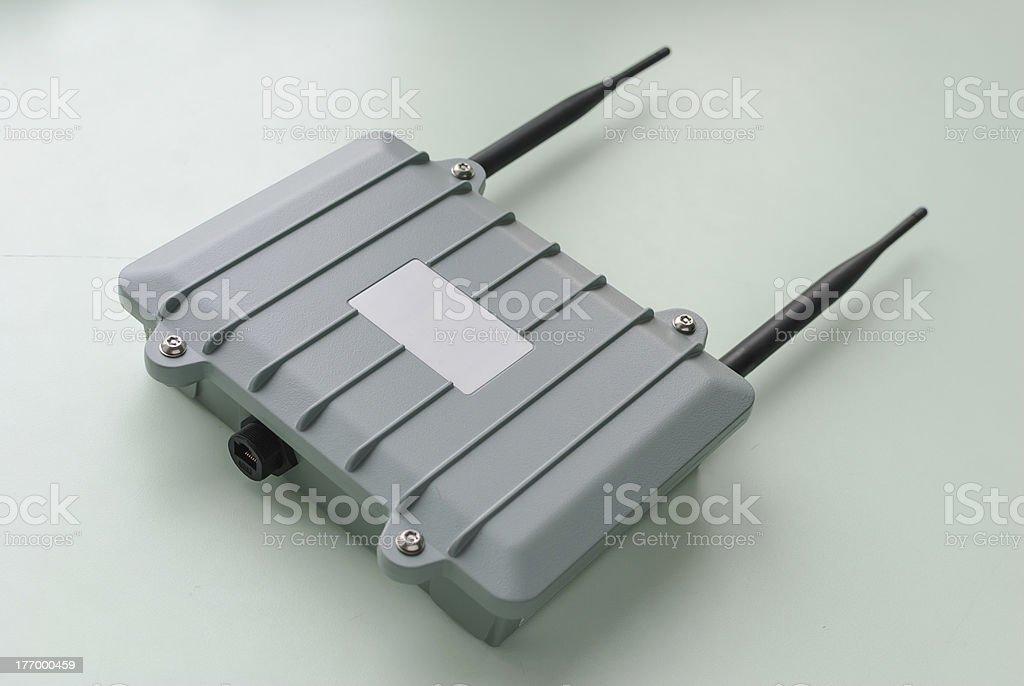Wireless Access Point. stock photo