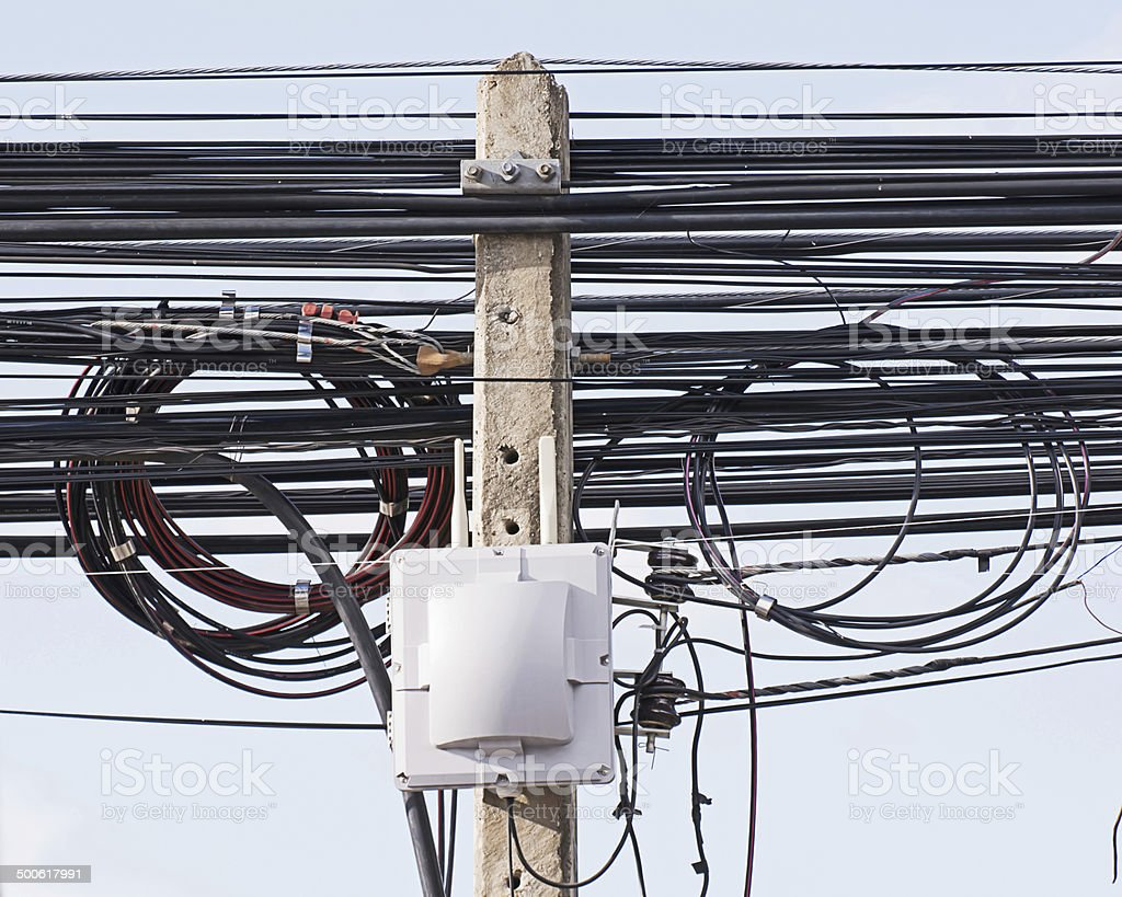 Wireless access point stock photo