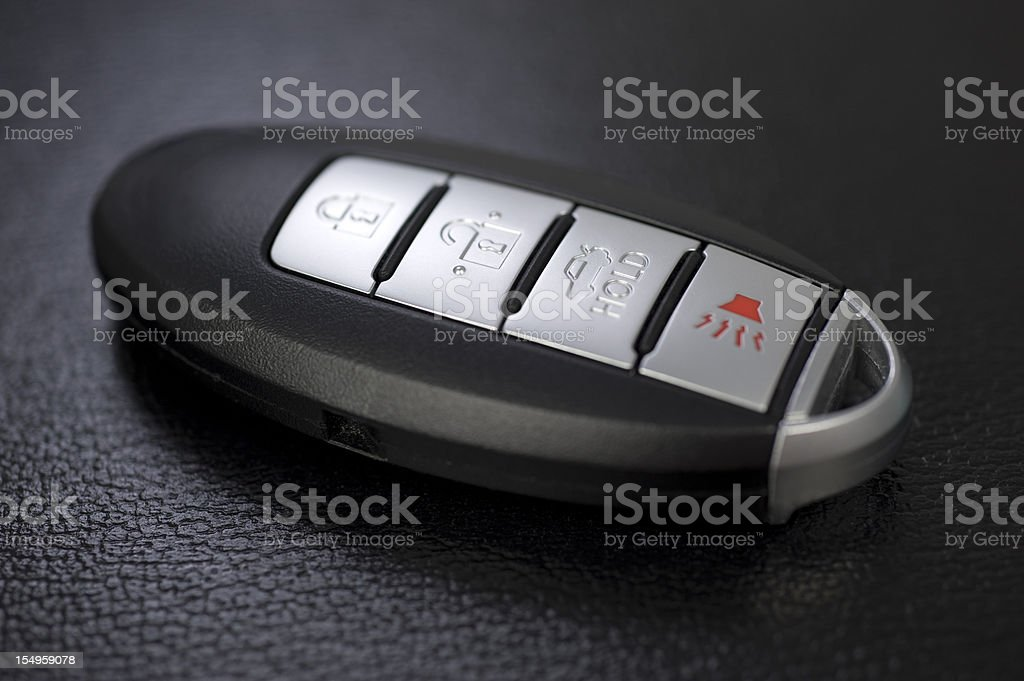 Wireless car key royalty-free stock photo