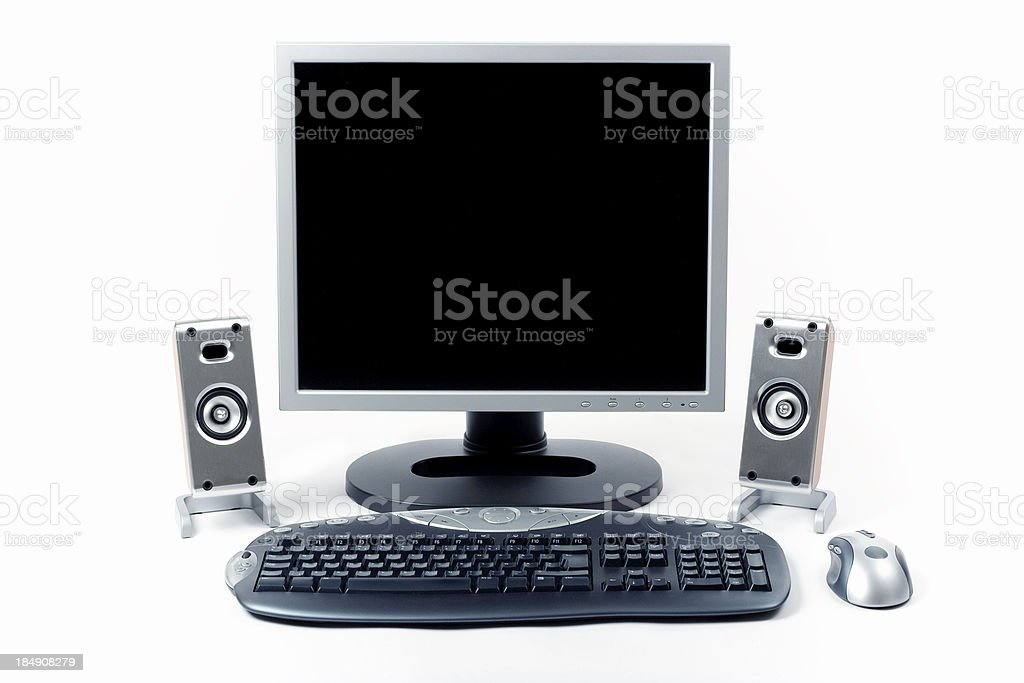 Wireless desktop royalty-free stock photo