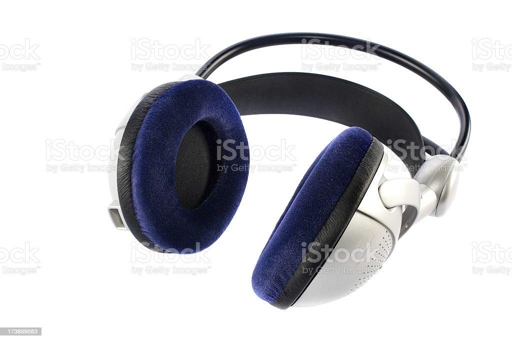 wireless headphone royalty-free stock photo