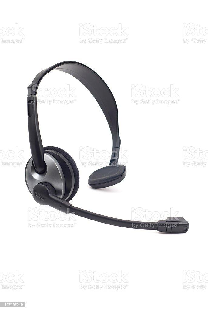 Wireless Headset stock photo