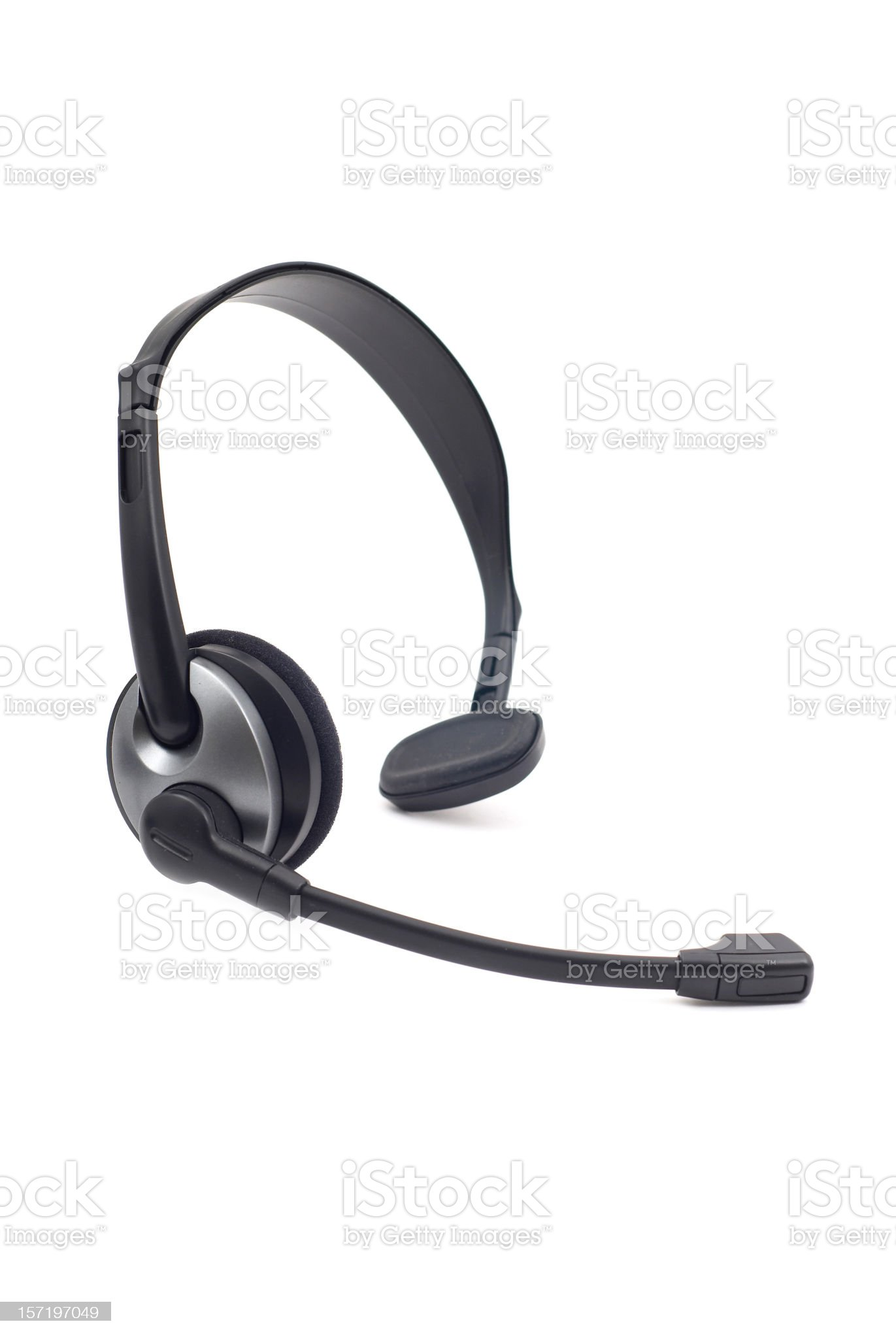 Wireless Headset royalty-free stock photo