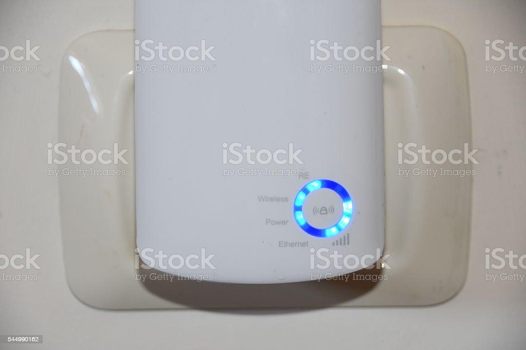 wireless Internet Increases range stock photo