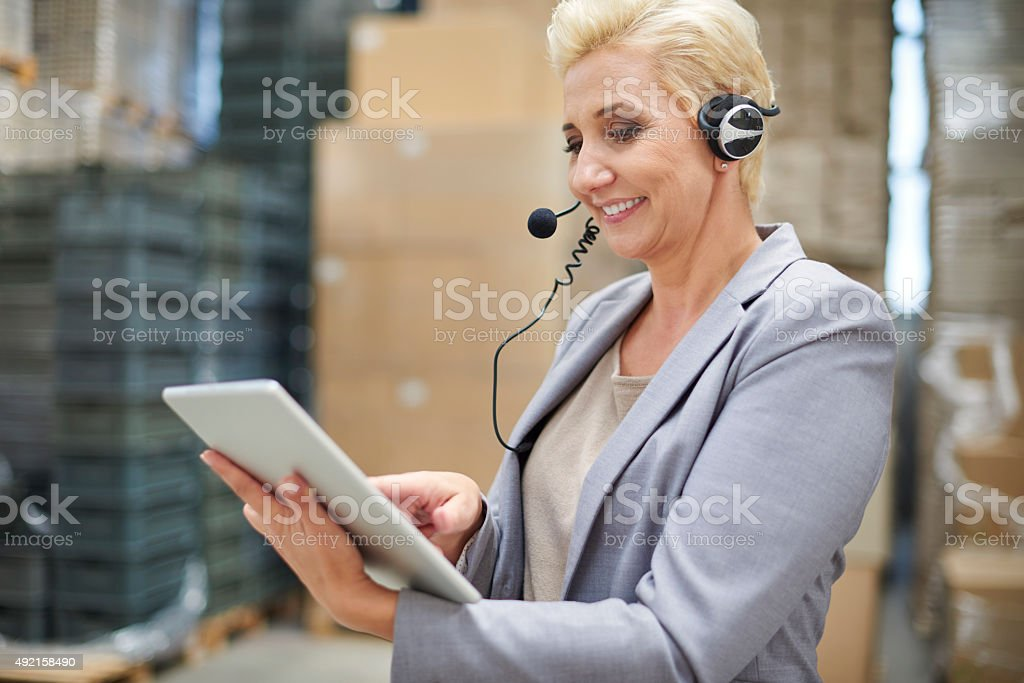 Wireless Internet is indispensable here stock photo