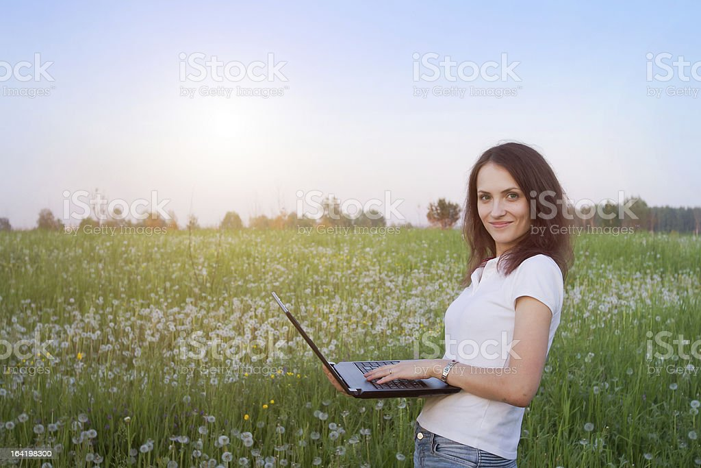wireless internet stock photo