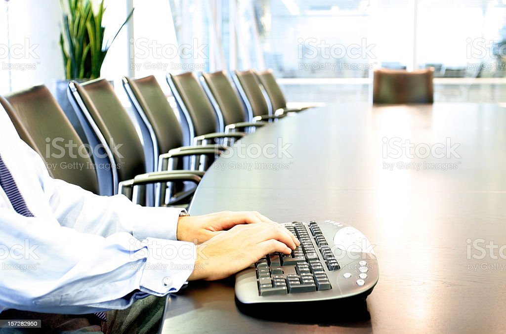 Wireless keyboard royalty-free stock photo