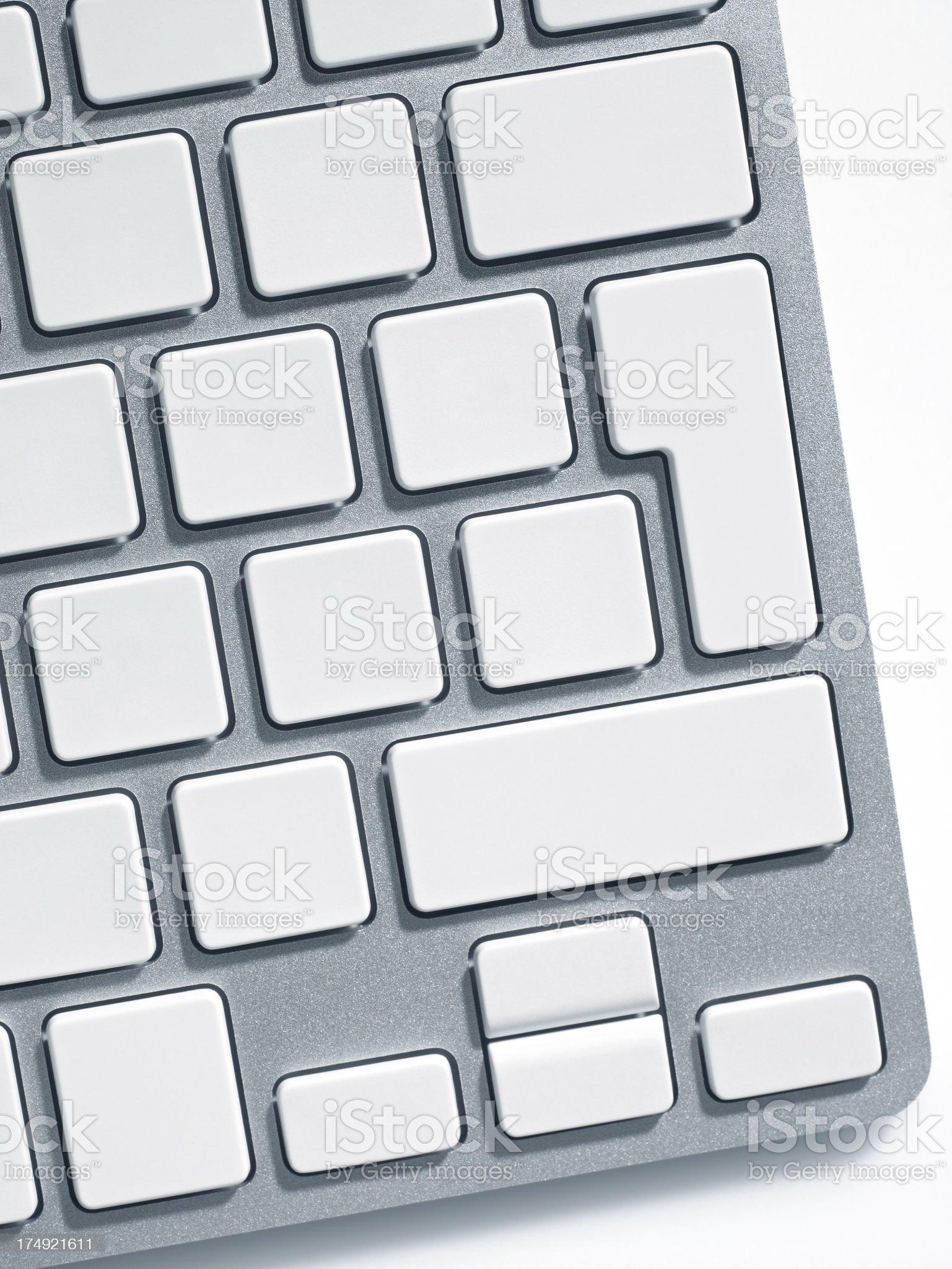 Wireless keyboard royalty-free stock photo