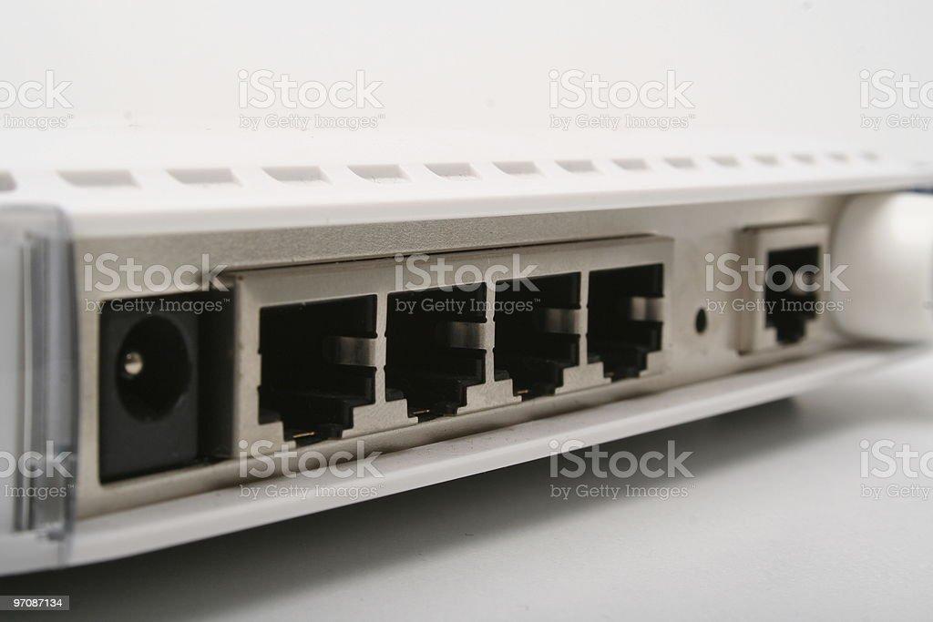 Wireless Lan Router royalty-free stock photo