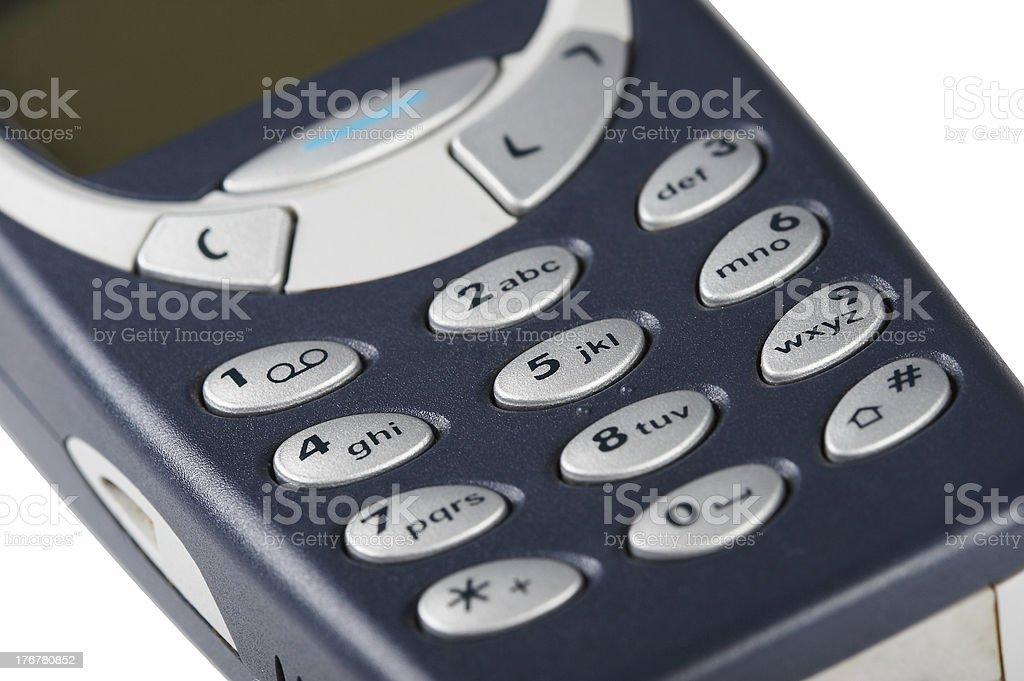Wireless mobile phone stock photo