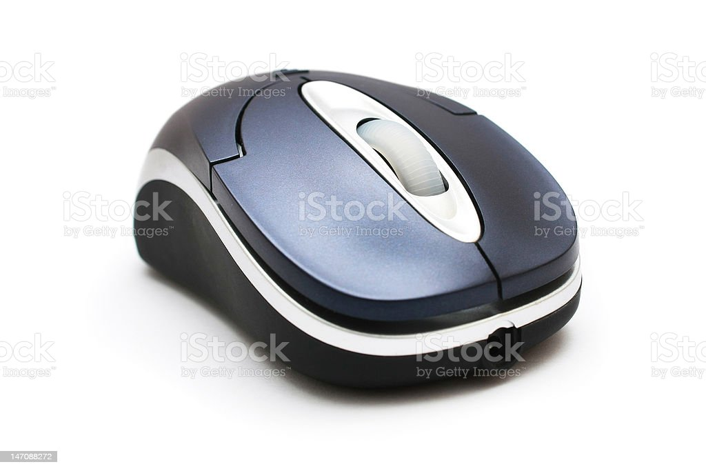 Wireless Mouse royalty-free stock photo