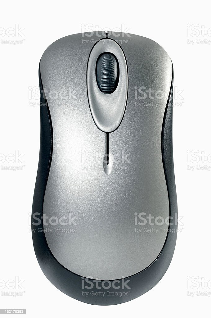 Wireless Mouse stock photo