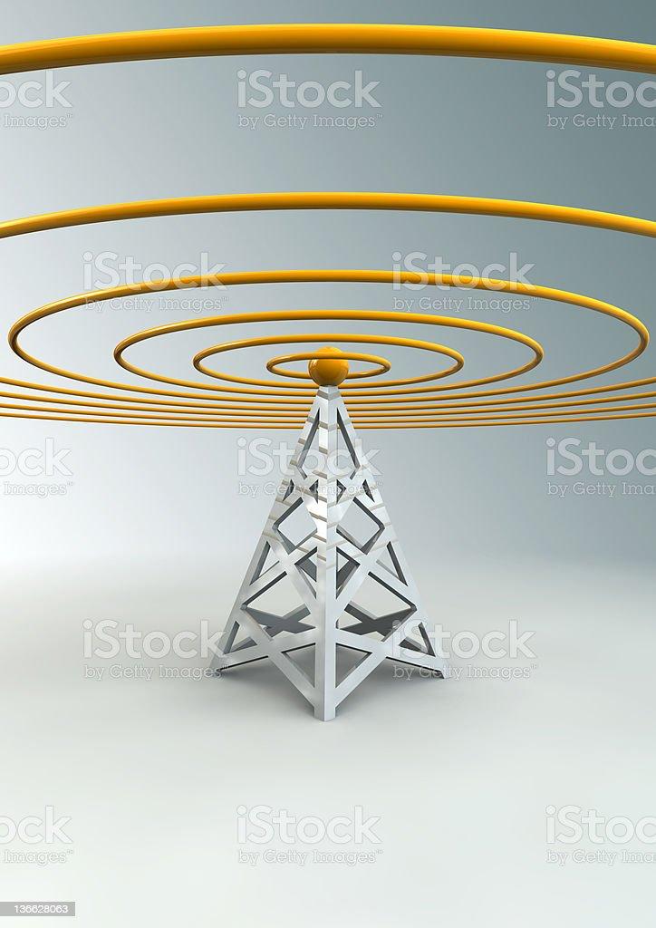 Wireless royalty-free stock photo