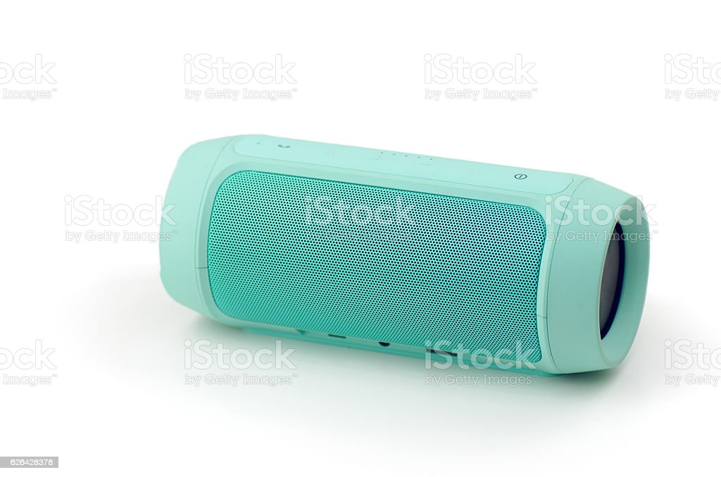 Wireless Portable Speaker stock photo