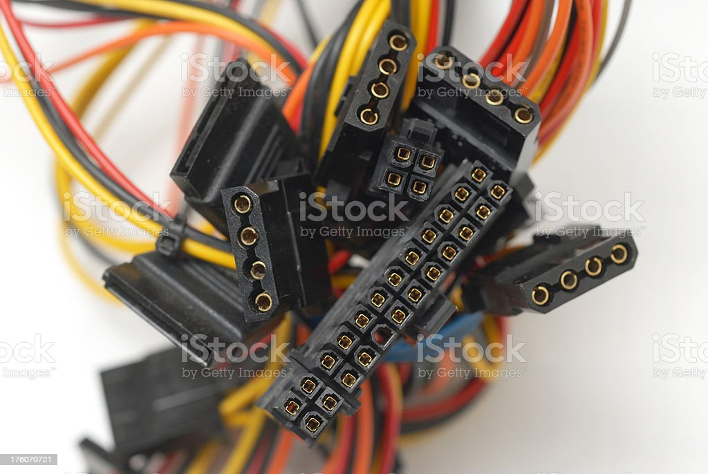 wires royalty-free stock photo
