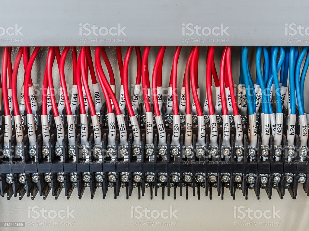 Wiring stock photo