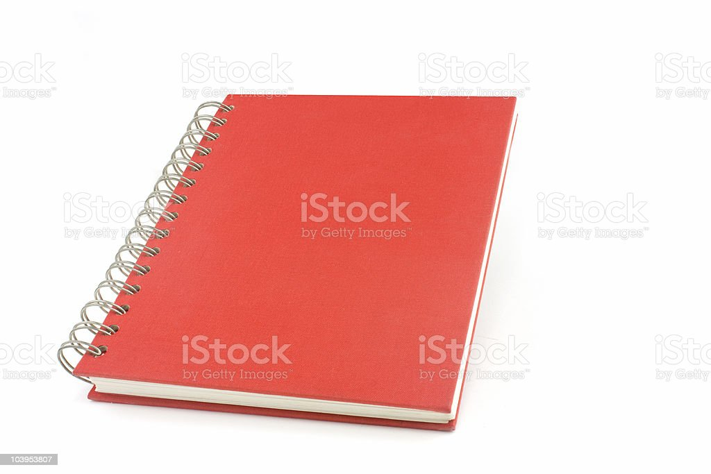 wirobound book sets stock photo