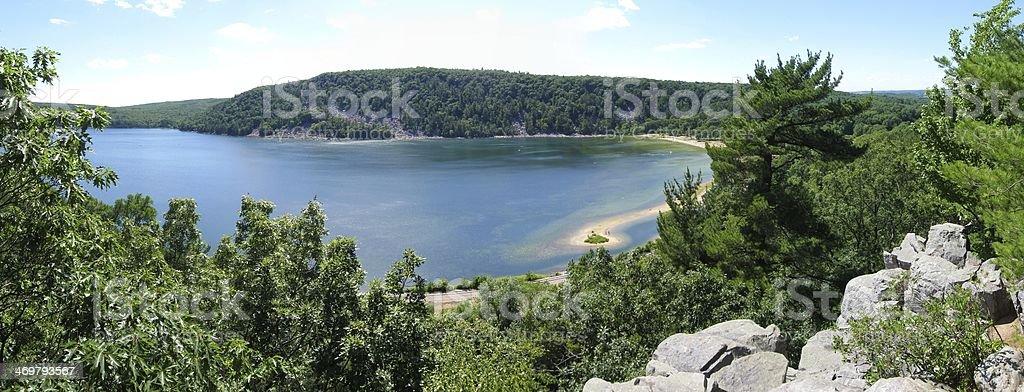 Wisconsin panorama stock photo