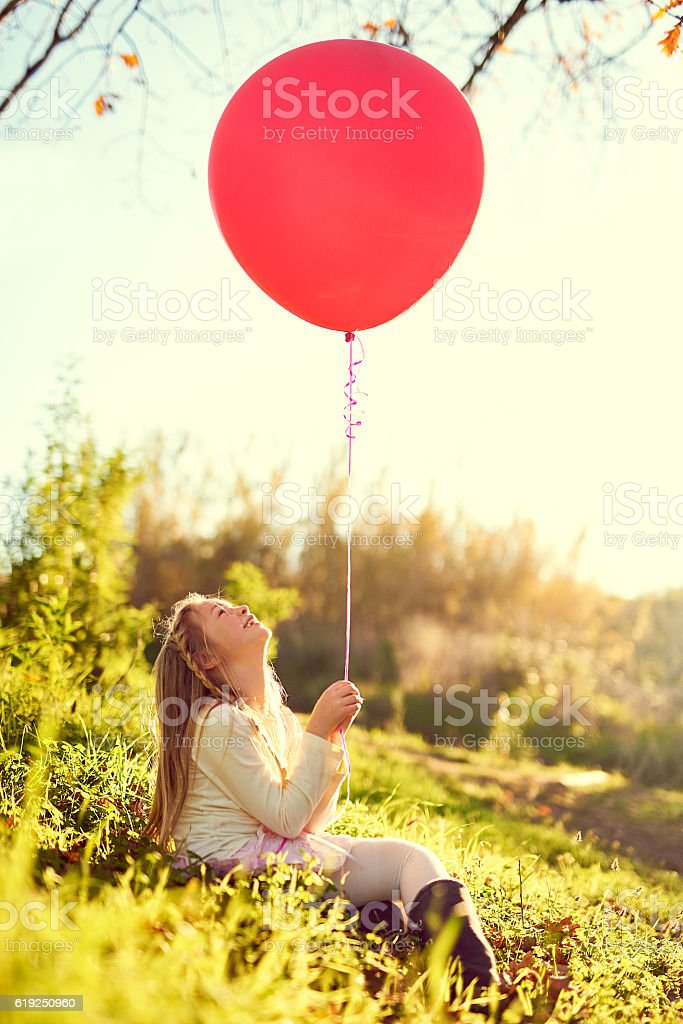I wish this could fly me to the sky stock photo