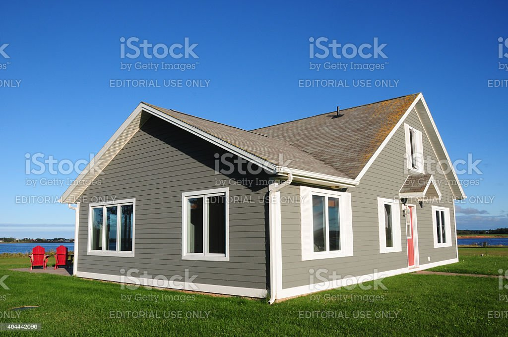 Wish this was my house! stock photo