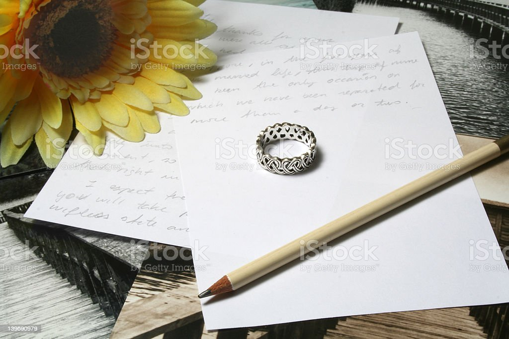 Wish you were here royalty-free stock photo