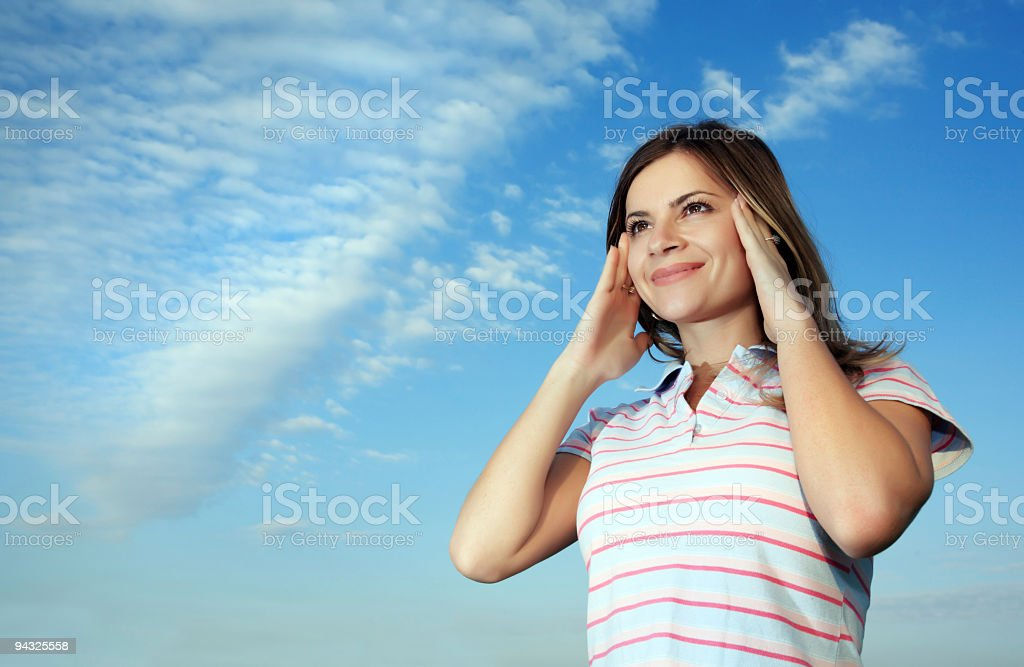 Wishes coming true royalty-free stock photo