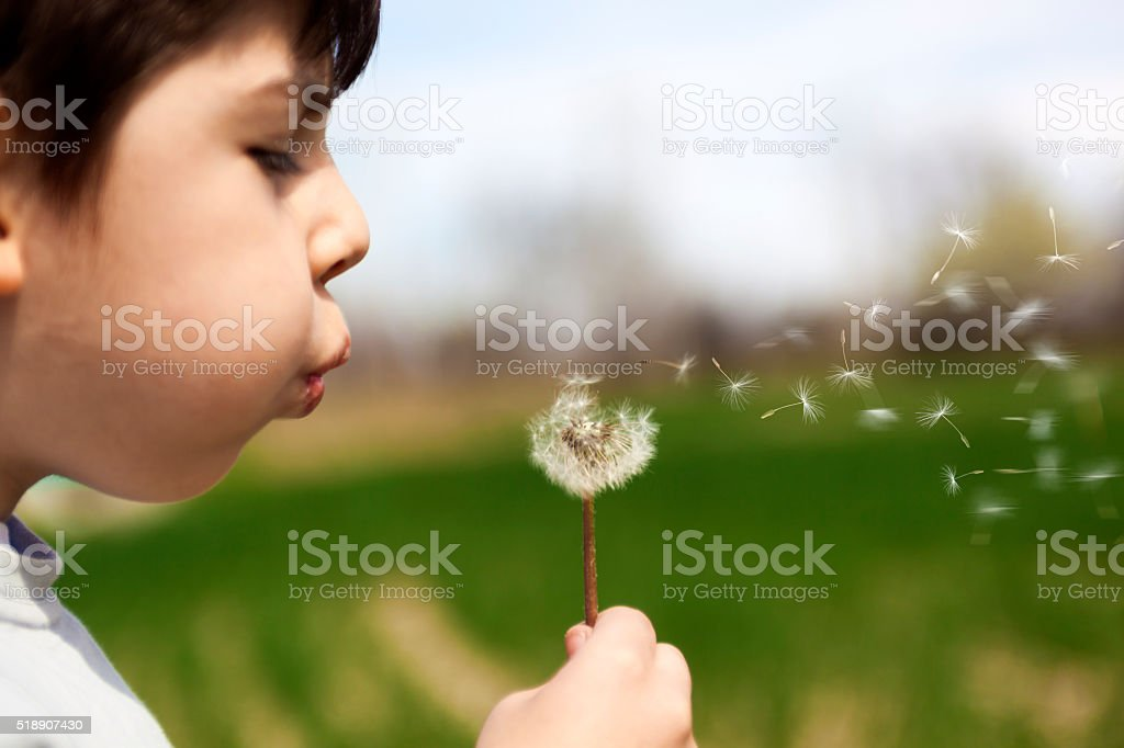 Wishes stock photo