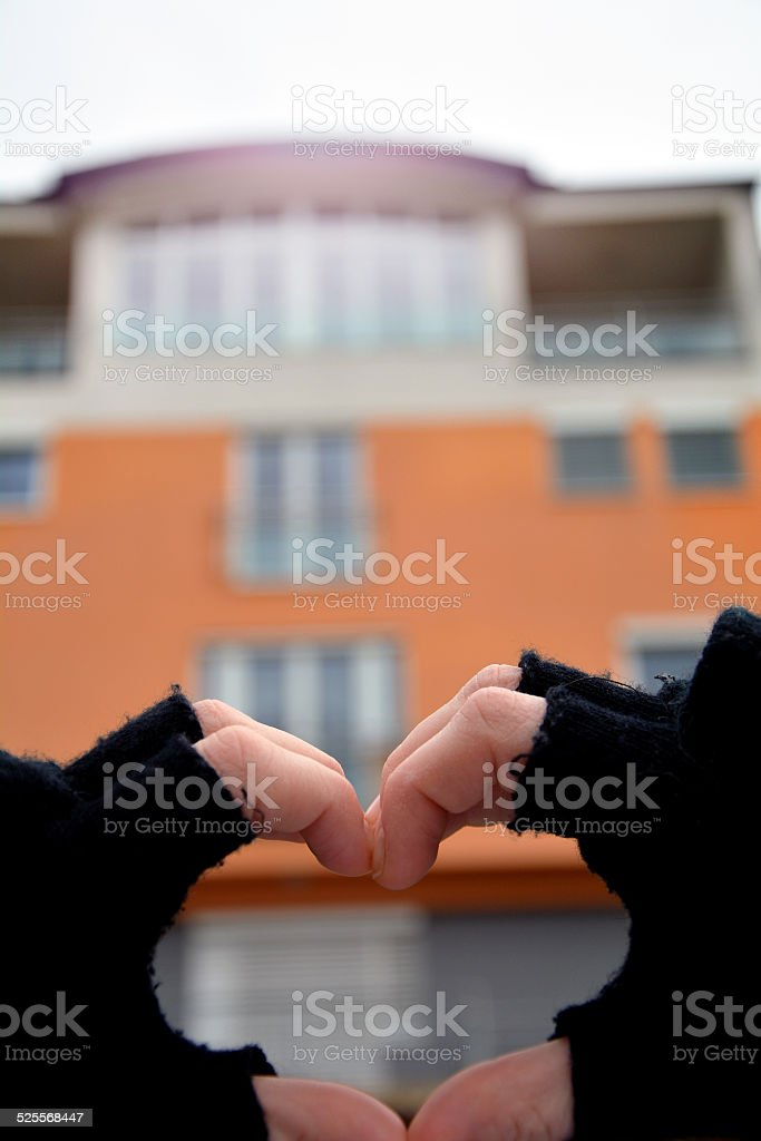 Wishing a new home... stock photo