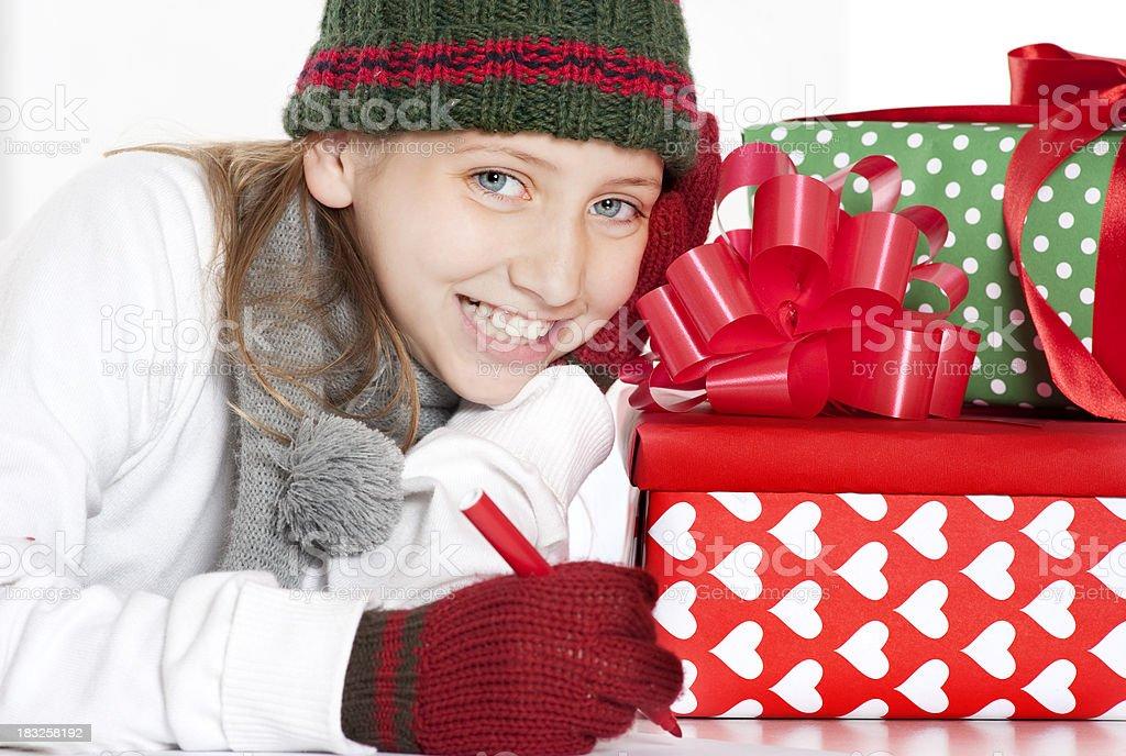 Wishing. royalty-free stock photo