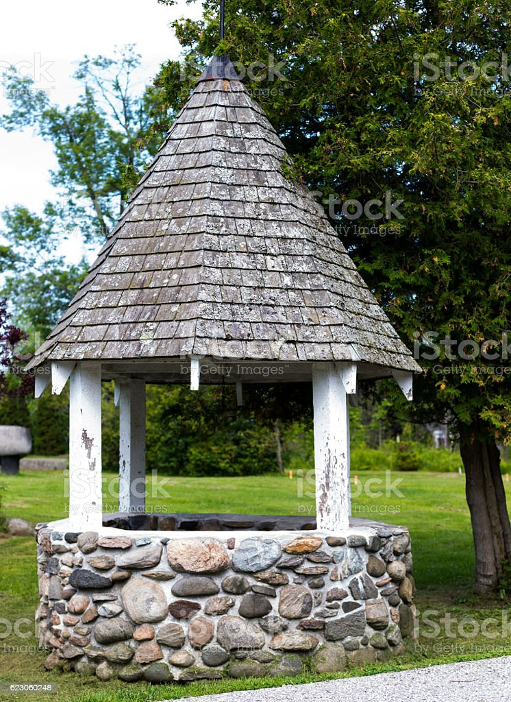 Wishing water well. royalty-free stock photo