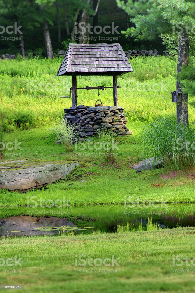 Wishing Well royalty-free stock photo