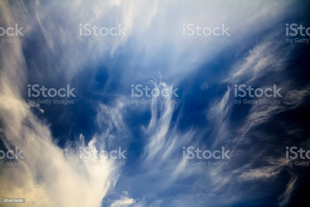 Wispy could stock photo