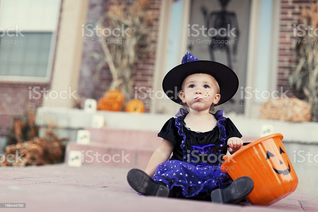 Witch Candy royalty-free stock photo