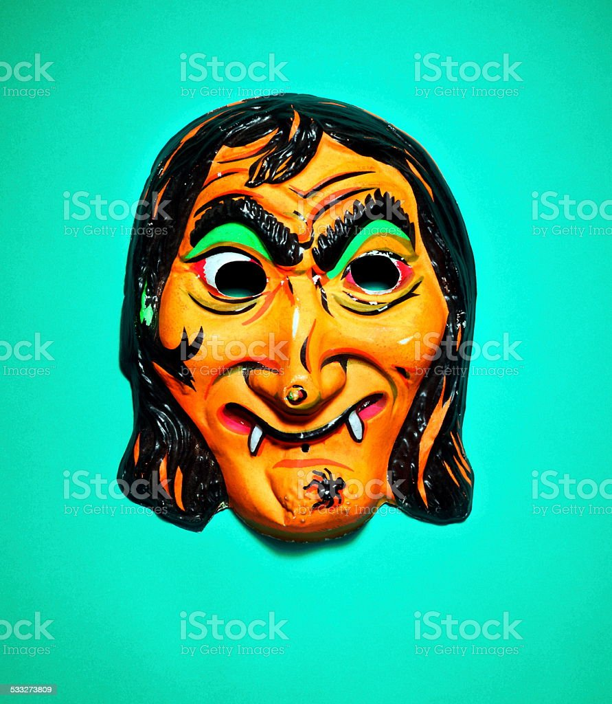 Witch Mask stock photo