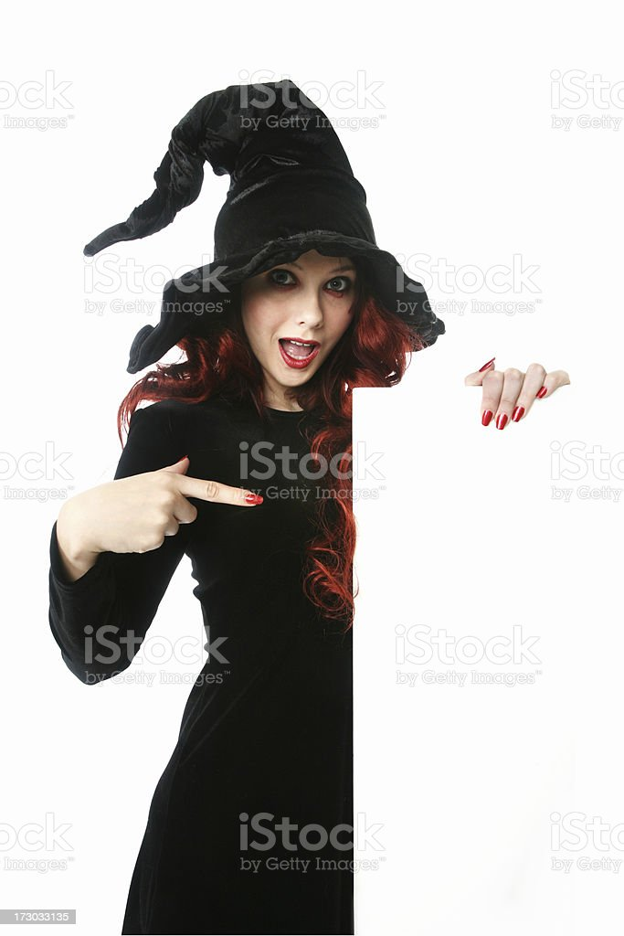 Witch Series Banner royalty-free stock photo