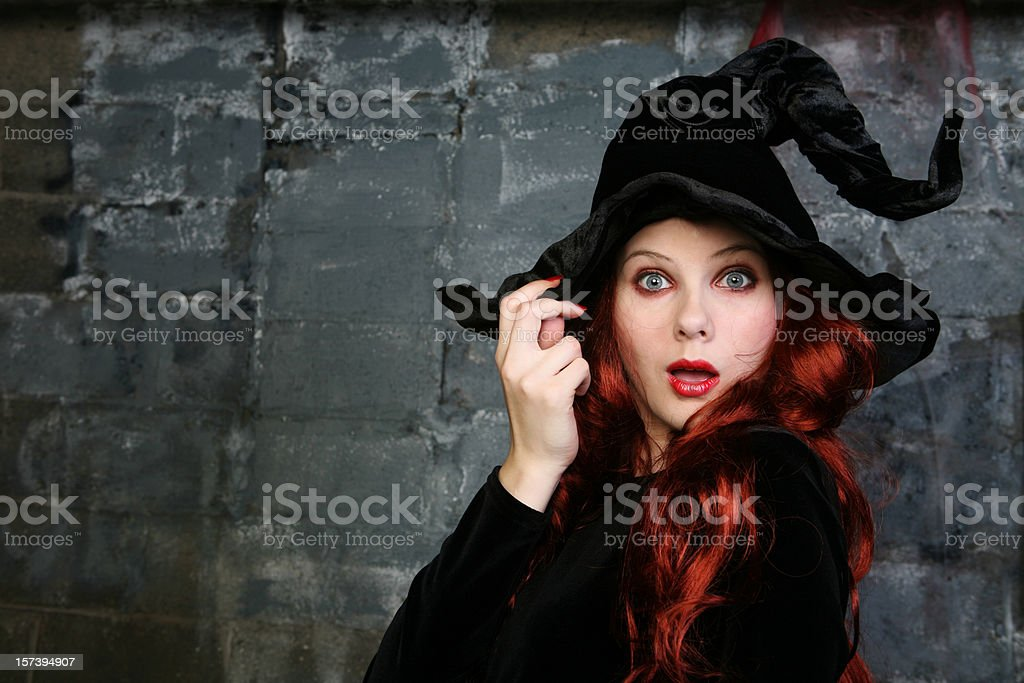 Witch Series stock photo