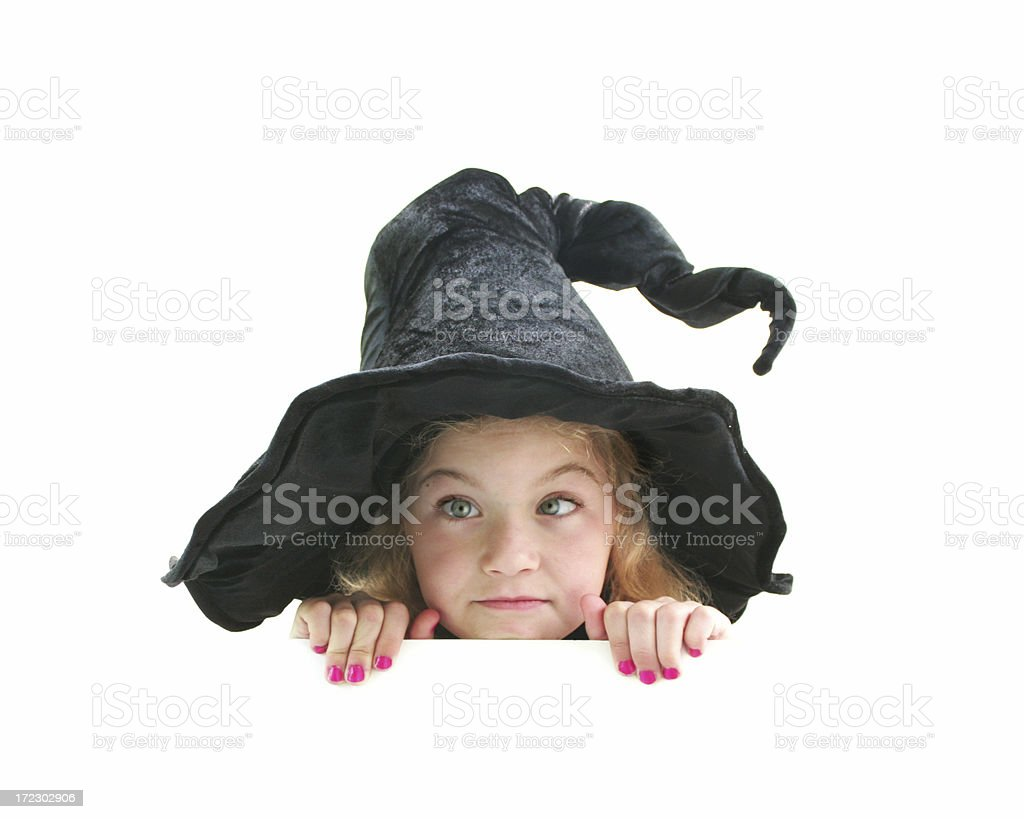 Witch Series royalty-free stock photo