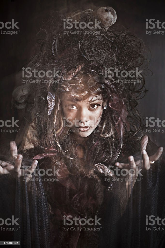 Witch sight royalty-free stock photo