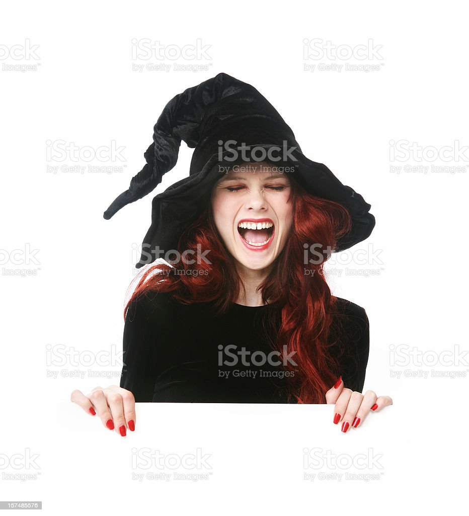 Witch sign series royalty-free stock photo