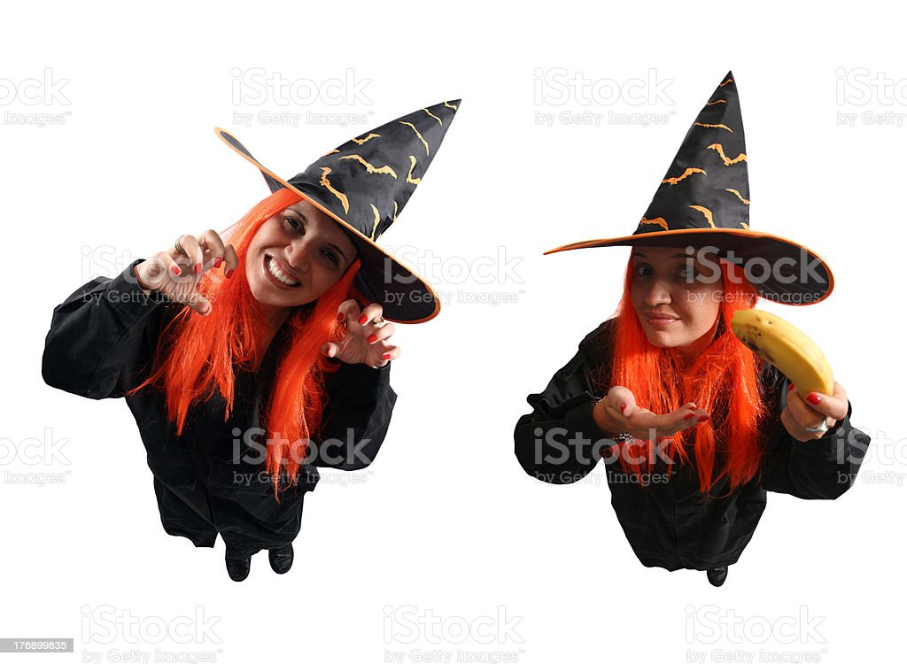 Witch sorcery and wrong spell royalty-free stock photo