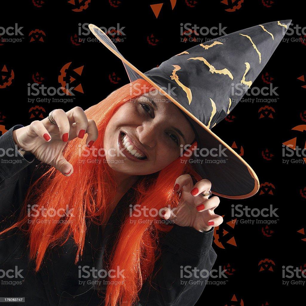 Witch sorcery royalty-free stock photo