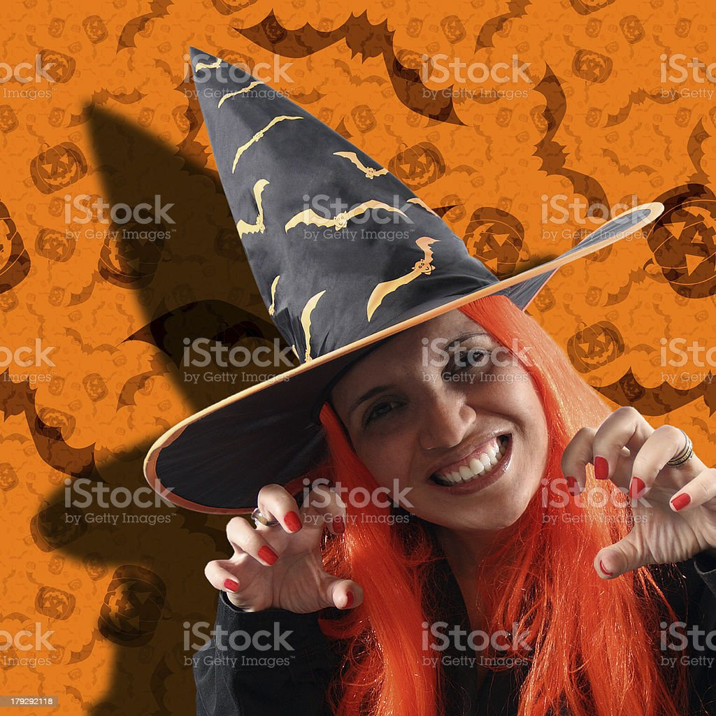 Witch sorcery royalty-free stock photo